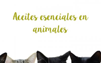 Aceites esenciales en animales